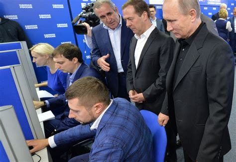 Putin's Party Scores Crushing Win In Russia Parliament Vote