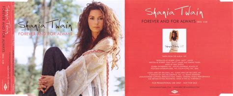 Shania twain forever and for always - tickets to my let's