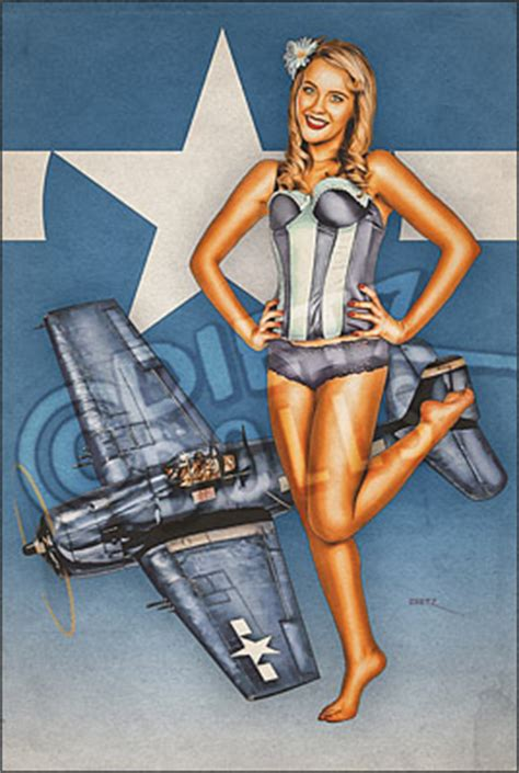 F6F Hellcat -R, Dietz Dolls Vintage Pinup Photography Store