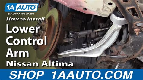 How To Install Replace Front Lower Control Arm 2002-06