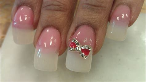 HOW TO CRAZY CURVE NATURAL NAILS P4 - YouTube