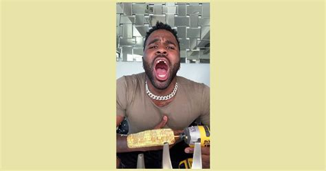 Did Jason Derulo chip his tooth while eating corn with a