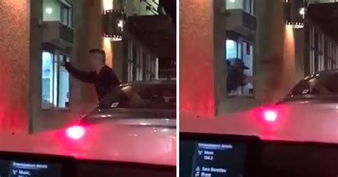 Intense Food Fight At The Taco Bell Drive-Thru - Wow Video