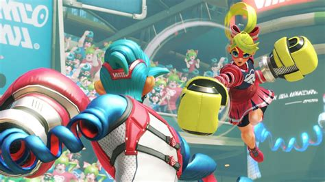 Nintendo Switch's Arms DLC Release Date Revealed - GameSpot