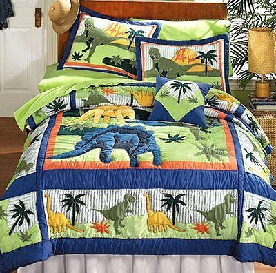 Dinosaurs - Bed Quilt Bedding Set - Full-Double Size