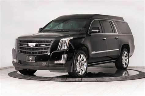 $500K bulletproof, souped-up Cadillac Escalade built for