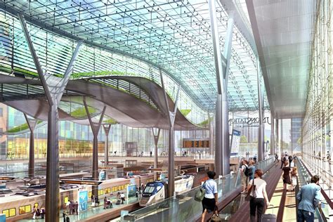 Gallery of Amtrak and HOK unveils design for new