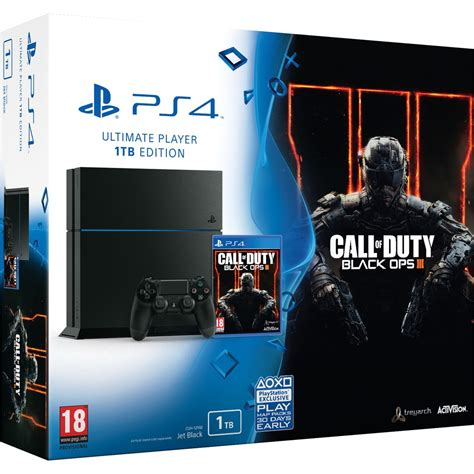 Sony PlayStation 4 1TB - Call of Duty: Black Ops III Games