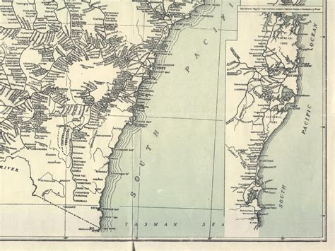 NSW Network Map - 1933