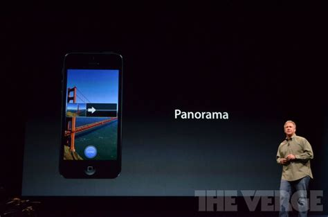 The iPhone 5's new iSight camera is 25 percent smaller, 40