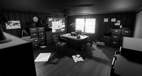 Marcus Bowyer - 1950's Detective's Office by MarcusBowyer