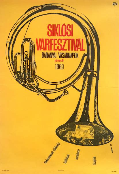 Siklos Castle Festival 1969   Budapest Poster Gallery